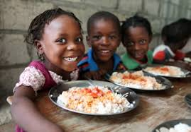 Food for the Poor is the largest international American charity and feeds thousands daily