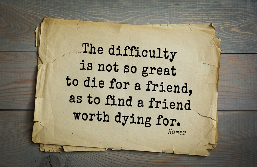 your life is worth dying for