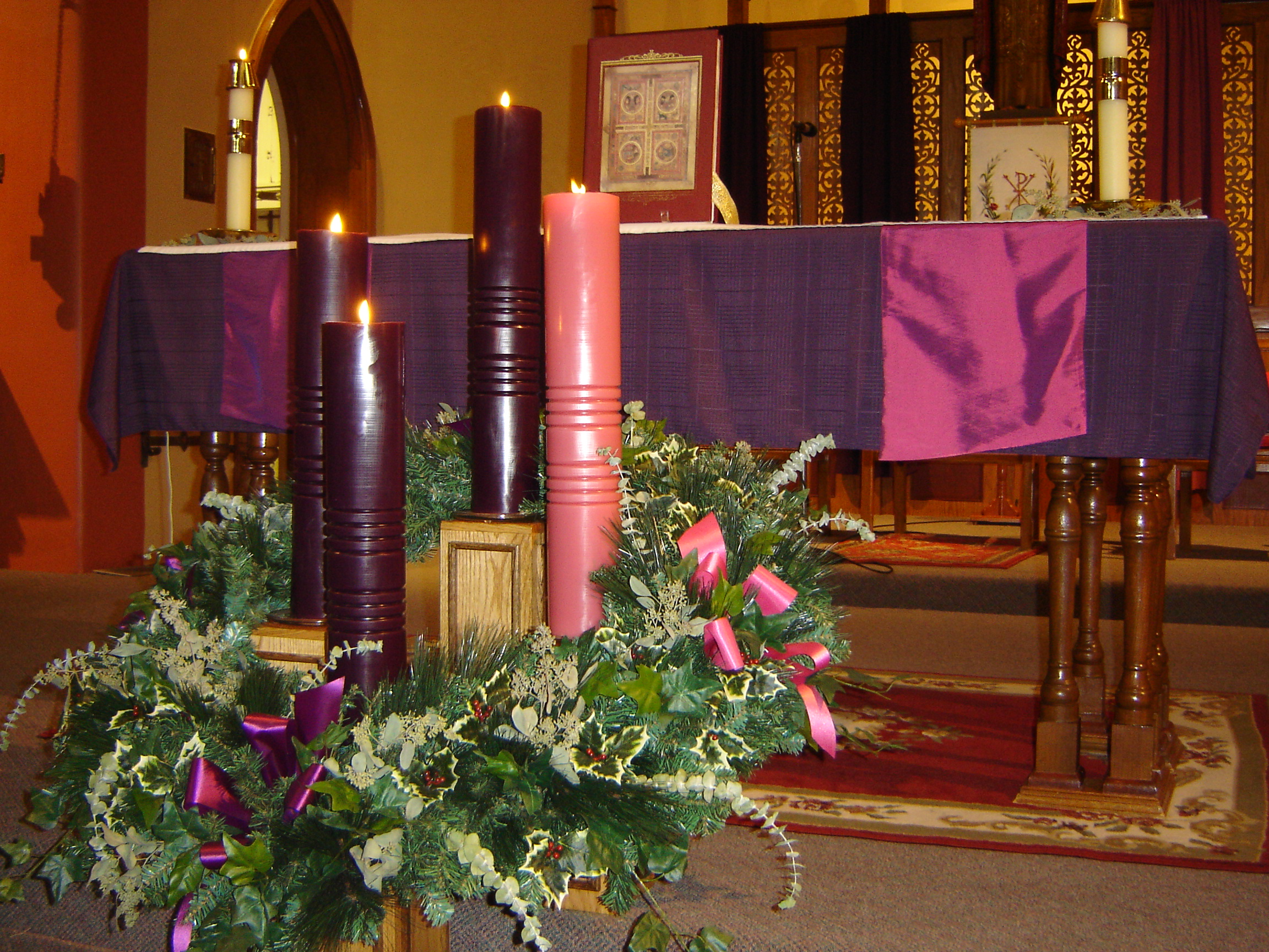 Four weeks before Christmas-Advent
