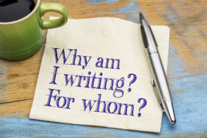 Writing- why do we do it?