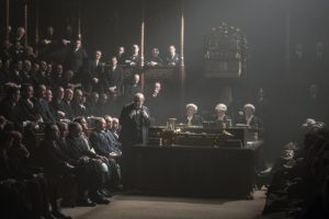 gary oldman as churchill in new film, the darkest hour