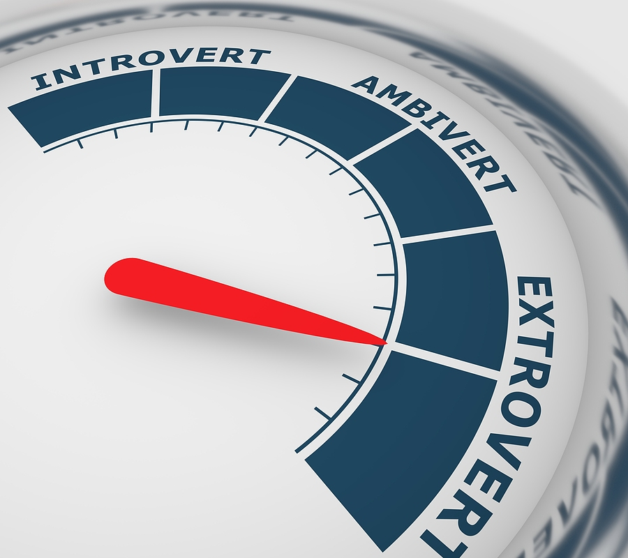 extrovert,, introvert or ambivert?